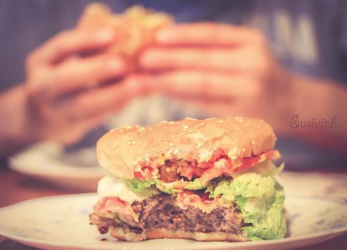 夢占い ハンバーガー