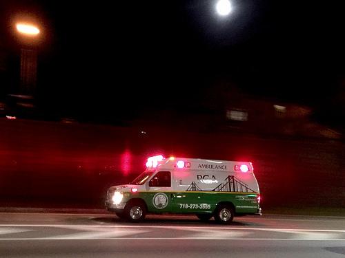 夢占い 救急車