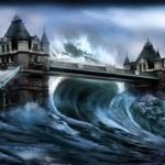 夢占い 津波