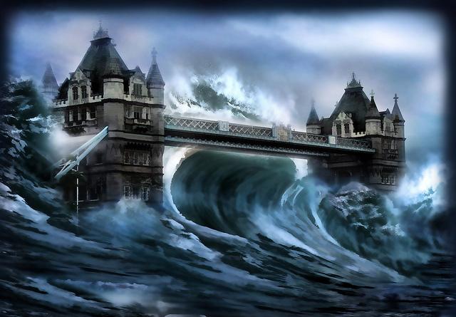 夢占いで津波の意味/解釈は?環境の一変をあらわす!?