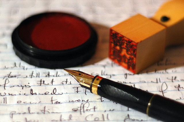 夢占いで印鑑の意味/解釈は?職場での地位や金運、契約事などをあらわします。