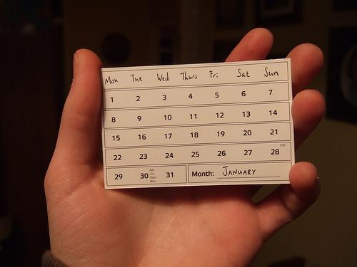 夢占いで暦・カレンダーの意味/解釈は?!人生の流れをあらわします。