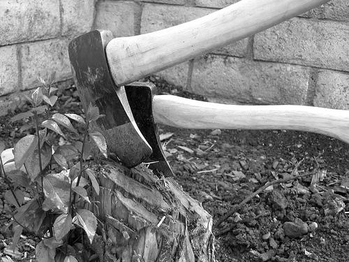 夢占いで斧の意味/解釈は?!道を切り開く強力なパワーをあらわします。