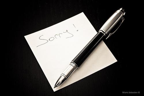 夢占いで謝る意味/解釈は?!自分への理解を表しています。